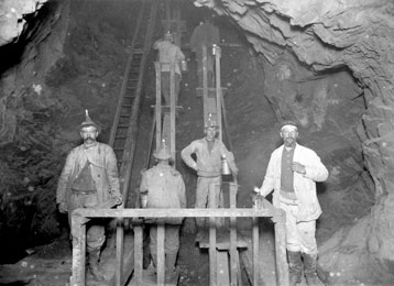 Man Engine, Quincy Mining Company, 1890